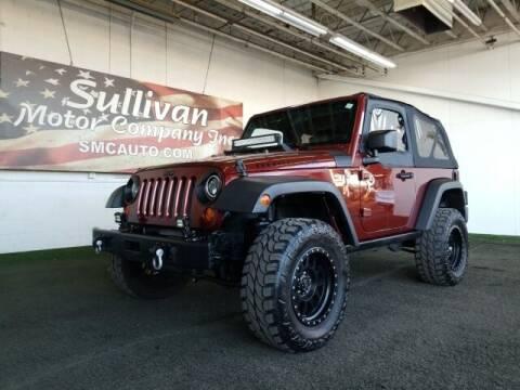 2007 Jeep Wrangler for sale at SULLIVAN MOTOR COMPANY INC. in Mesa AZ