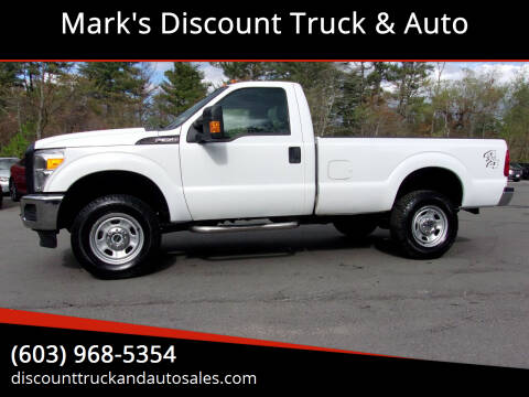 2015 Ford F-350 Super Duty for sale at Mark's Discount Truck & Auto in Londonderry NH