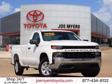 2020 Chevrolet Silverado 1500 for sale at Joe Myers Toyota PreOwned in Houston TX