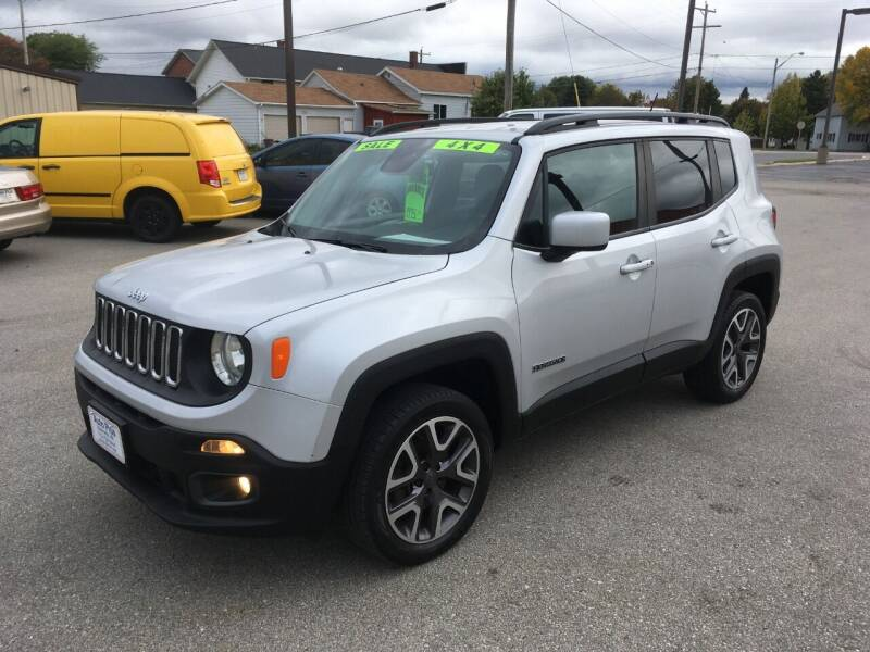 2015 Jeep Renegade for sale at AUTO PLUS INC in Marinette WI