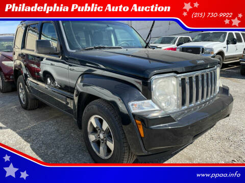 2008 Jeep Liberty for sale at Philadelphia Public Auto Auction in Philadelphia PA