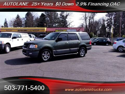 2003 Ford Expedition for sale at Auto Lane in Portland OR