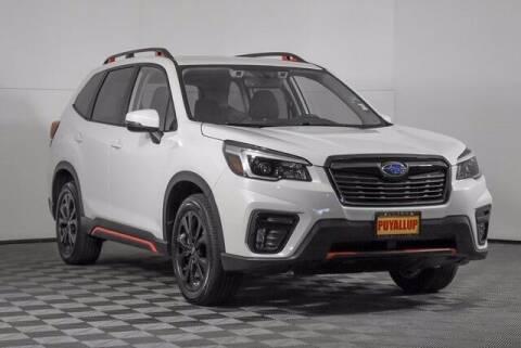 2021 Subaru Forester for sale at Washington Auto Credit in Puyallup WA