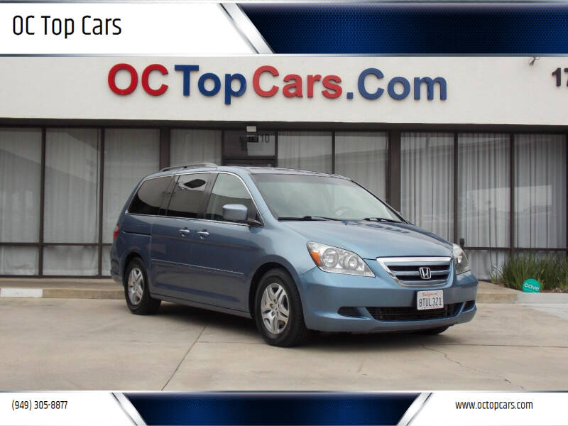 2007 Honda Odyssey for sale at OC Top Cars in Irvine CA