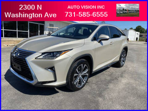 2016 Lexus RX 350 for sale at Auto Vision Inc. in Brownsville TN