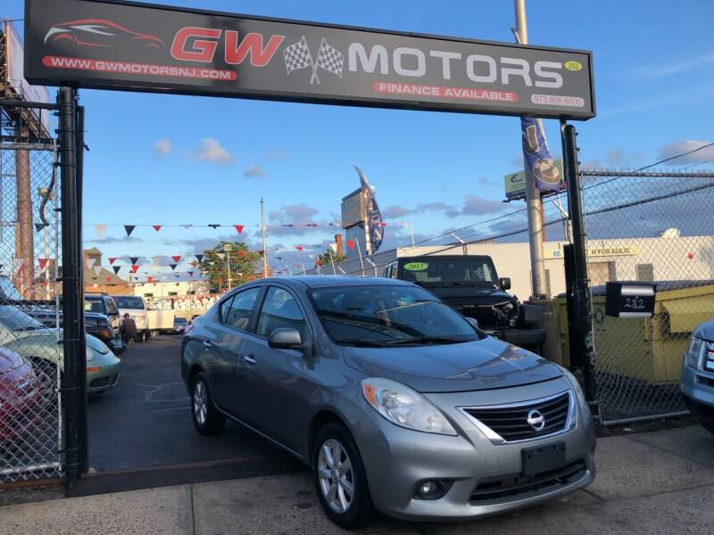2012 Nissan Versa for sale at GW MOTORS in Newark NJ