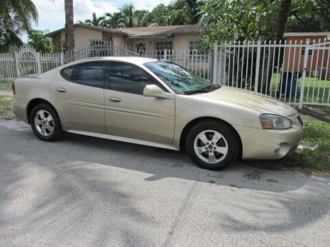 2005 Pontiac Grand Prix for sale at TROPICAL MOTOR CARS INC in Miami FL