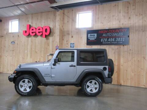 2014 Jeep Wrangler for sale at Boone NC Jeeps-High Country Auto Sales in Boone NC