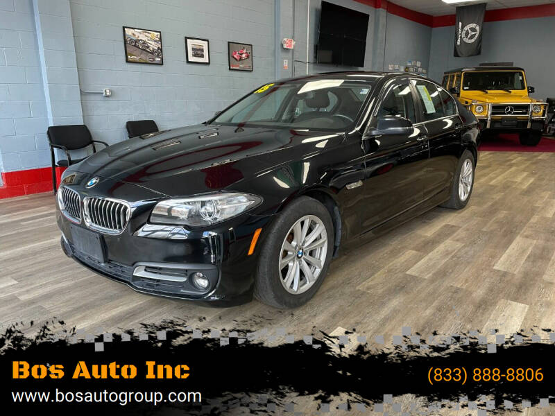 2015 BMW 5 Series for sale at Bos Auto Inc in Quincy MA