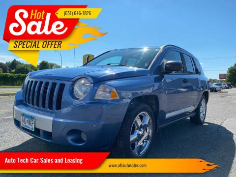 2007 Jeep Compass for sale at Auto Tech Car Sales and Leasing in Saint Paul MN