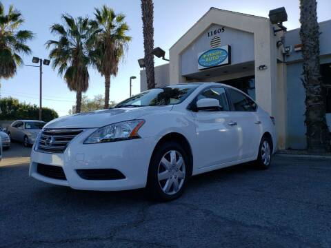 2015 Nissan Sentra for sale at In-House Auto Finance in Hawthorne CA