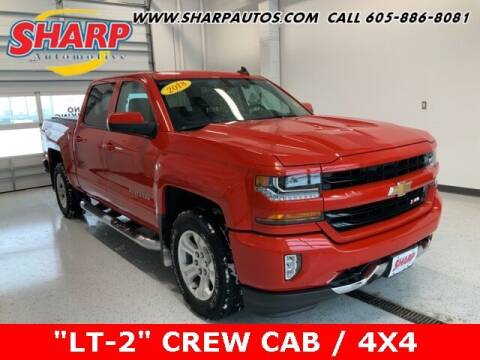 2018 Chevrolet Silverado 1500 for sale at Sharp Automotive in Watertown SD