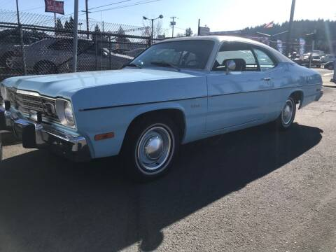 1974 Plymouth Duster for sale at Chuck Wise Motors in Portland OR