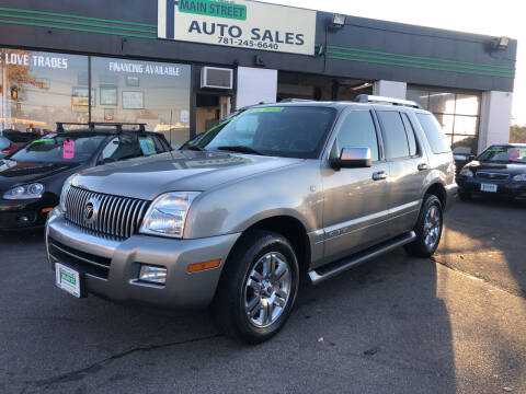 2008 Mercury Mountaineer for sale at Wakefield Auto Sales of Main Street Inc. in Wakefield MA