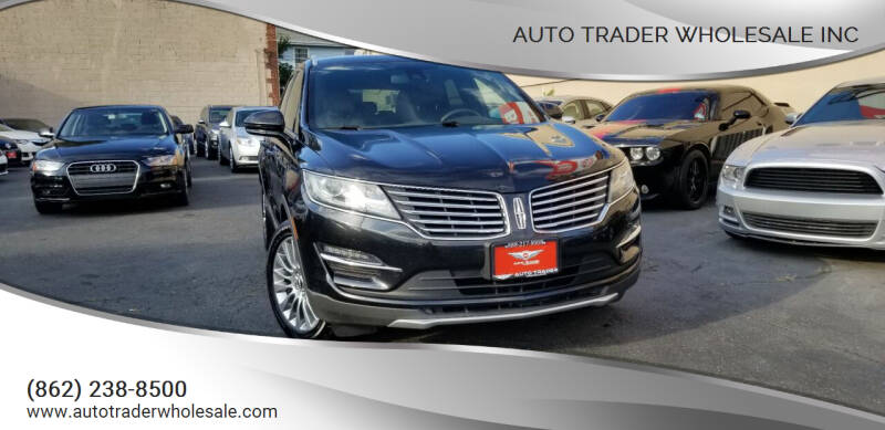 2015 Lincoln MKC for sale at Auto Trader Wholesale Inc in Saddle Brook NJ