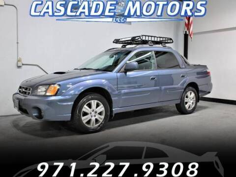 2005 Subaru Baja for sale at Cascade Motors in Portland OR
