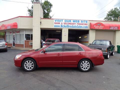 2007 Honda Accord for sale at Bickel Bros Auto Sales, Inc in Louisville KY