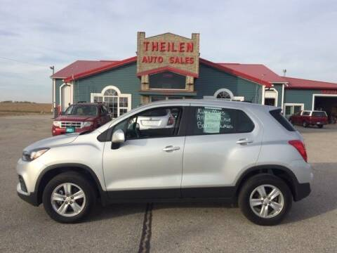 2017 Chevrolet Trax for sale at THEILEN AUTO SALES in Clear Lake IA