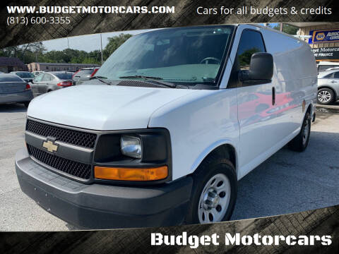 2013 Chevrolet Express Cargo for sale at Budget Motorcars in Tampa FL