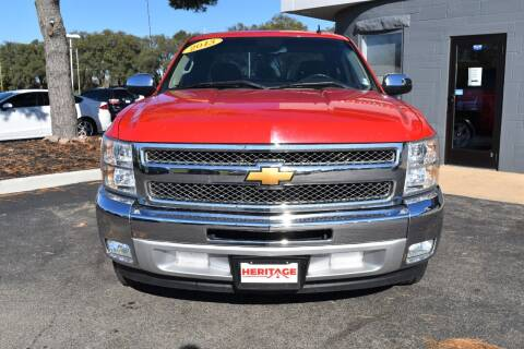 2013 Chevrolet Silverado 1500 for sale at Heritage Automotive Sales in Columbus in Columbus IN