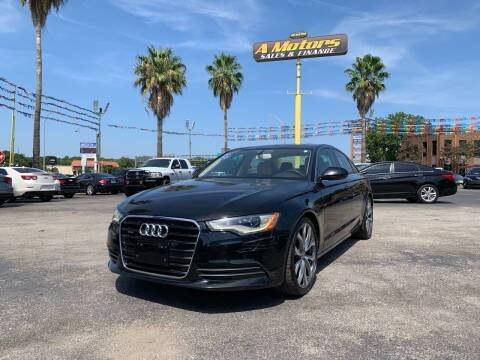 2014 Audi A6 for sale at A MOTORS SALES AND FINANCE in San Antonio TX