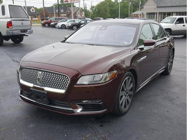 2017 Lincoln Continental for sale at STRUTHER'S AUTO MALL in Austintown OH