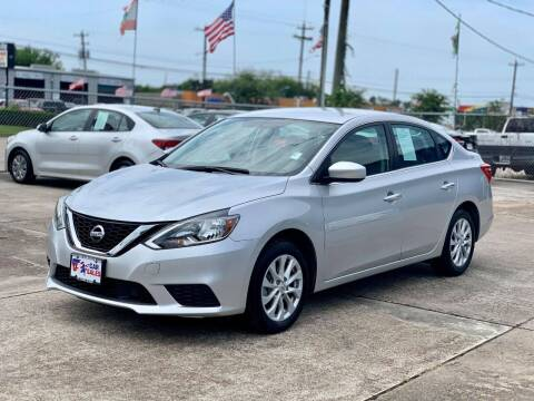 2019 Nissan Sentra for sale at USA Car Sales in Houston TX