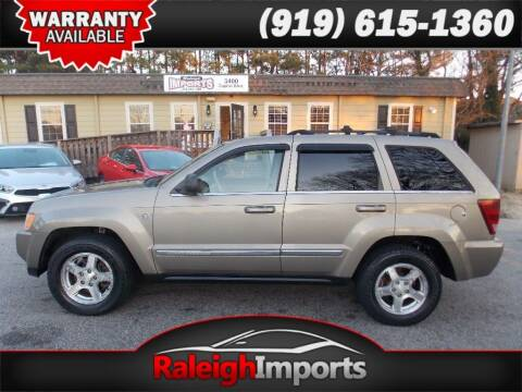 2005 Jeep Grand Cherokee for sale at Raleigh Imports in Raleigh NC