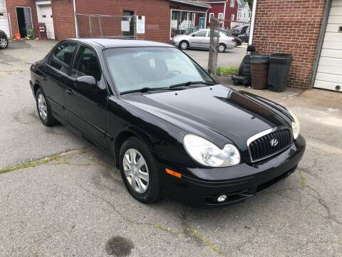 2005 Hyundai Sonata for sale at Emory Street Auto Sales and Service in Attleboro MA