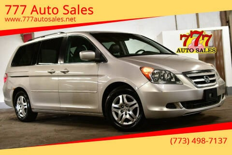 2006 Honda Odyssey for sale at 777 Auto Sales in Bedford Park IL