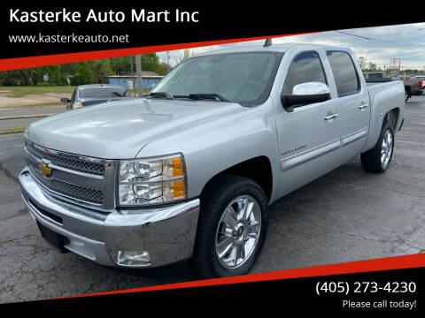 2012 Chevrolet Silverado 1500 for sale at Kasterke Auto Mart Inc in Shawnee OK