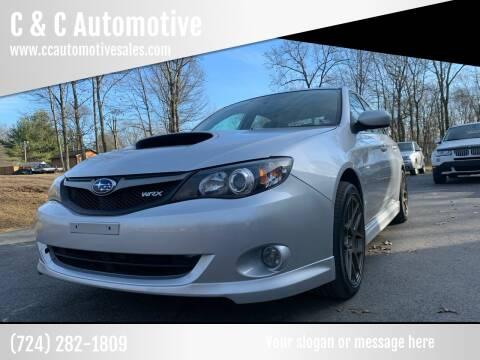 2010 Subaru Impreza for sale at C & C Automotive in Chicora PA