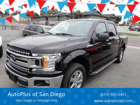 2019 Ford F-150 for sale at AutoPlus of San Diego in Spring Valley CA