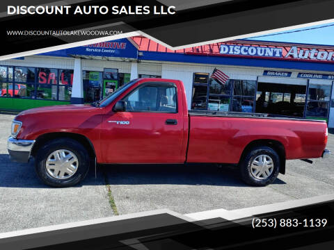 1993 Toyota T100 for sale at DISCOUNT AUTO SALES LLC in Lakewood WA