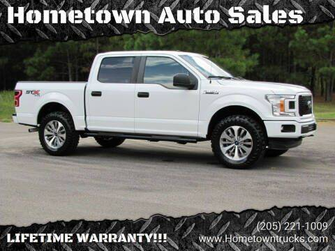 2018 Ford F-150 for sale at Hometown Auto Sales - Trucks in Jasper AL