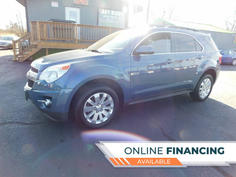 2011 Chevrolet Equinox for sale at Buy Right Auto Sales Inc in Fort Wayne IN
