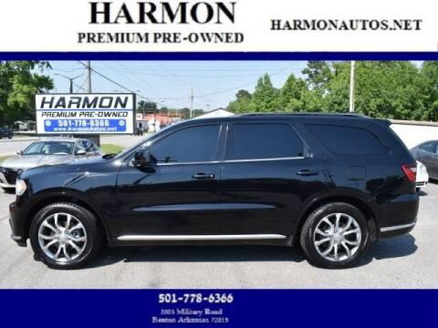 2018 Dodge Durango for sale at Harmon Premium Pre-Owned in Benton AR