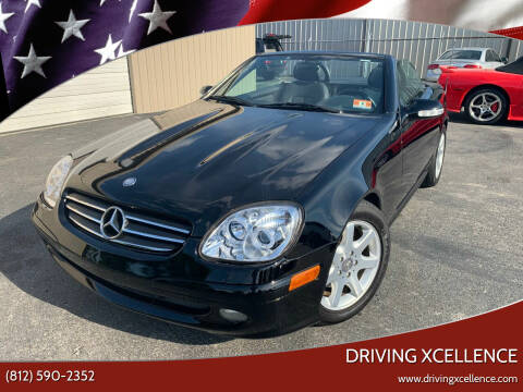 2002 Mercedes-Benz SLK for sale at Driving Xcellence in Jeffersonville IN