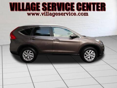 2015 Honda CR-V for sale at VILLAGE SERVICE CENTER in Penns Creek PA