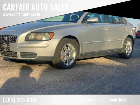 2006 Volvo S40 for sale at CARFAIR AUTO SALES in Oklahoma City OK