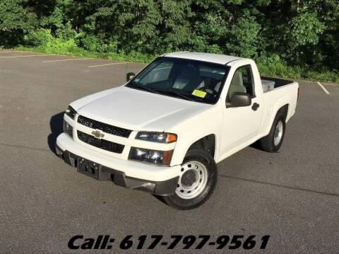 2010 Chevrolet Colorado for sale at Wheeler Dealer Inc. in Acton MA