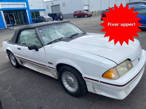 1989 Ford Mustang for sale at MATTHEWS HARGREAVES CHEVROLET in Royal Oak MI