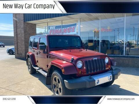2010 Jeep Wrangler Unlimited for sale at New Way Car Company in Grand Rapids MI