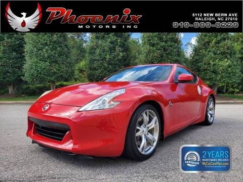 2010 Nissan 370Z for sale at Phoenix Motors Inc in Raleigh NC