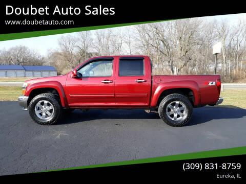 2011 Chevrolet Colorado for sale at Doubet Auto Sales in Eureka IL