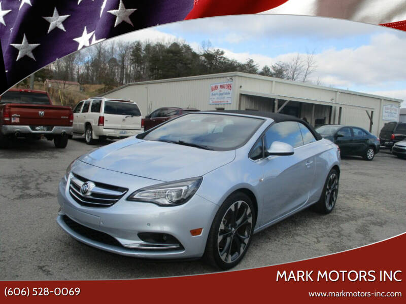 2016 Buick Cascada for sale at Mark Motors Inc in Gray KY