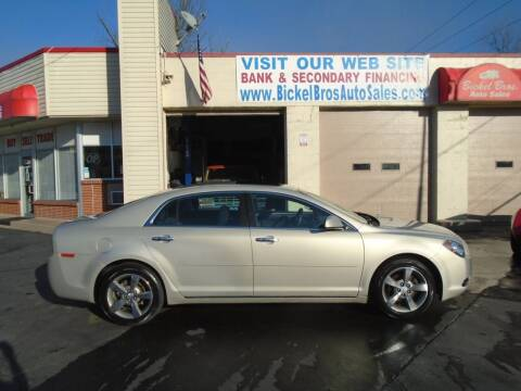 2012 Chevrolet Malibu for sale at Bickel Bros Auto Sales, Inc in Louisville KY