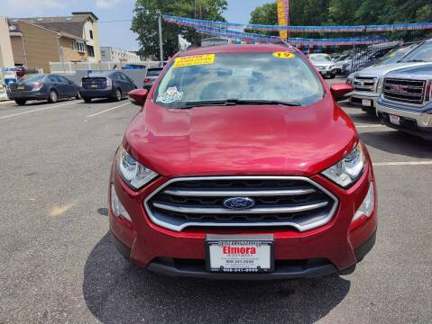 2019 Ford EcoSport for sale at Elmora Auto Sales in Elizabeth NJ
