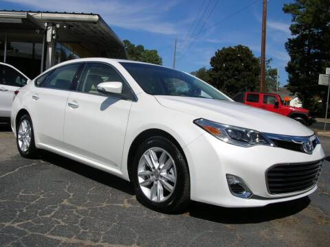 2014 Toyota Avalon for sale at South Atlanta Motorsports in Mcdonough GA