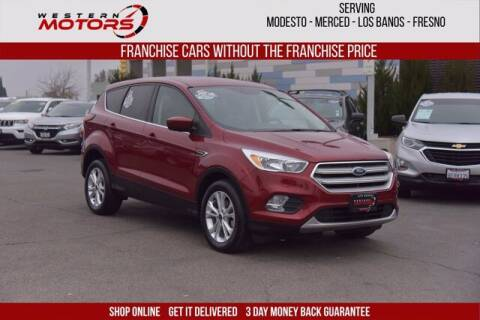 2019 Ford Escape for sale at Choice Motors in Merced CA